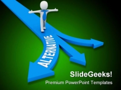 Alternative Way Concept Business Template 1010