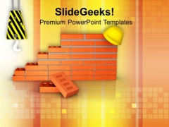 Always Be Careful On Construction Site PowerPoint Templates Ppt Backgrounds For Slides 0613