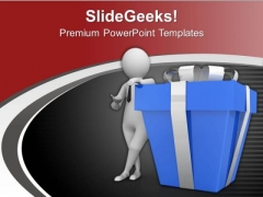 Always Find The Best Gifting Option PowerPoint Templates Ppt Backgrounds For Slides 0713