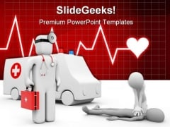 Ambulance Medical PowerPoint Templates And PowerPoint Backgrounds 0511