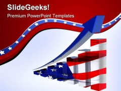 America Statistics Business PowerPoint Themes And PowerPoint Slides 0411