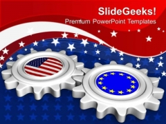 American Chinese Relation Is Important PowerPoint Templates Ppt Backgrounds For Slides 0713