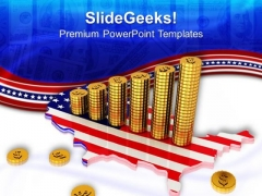 American Dollar Growth PowerPoint Templates And PowerPoint Themes 0912