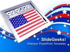 American Website PowerPoint Templates And PowerPoint Themes 1012