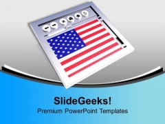 American Website Usa Business PowerPoint Templates Ppt Backgrounds For Slides 0113