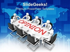Analysis Of Business Opinions PowerPoint Templates Ppt Backgrounds For Slides 0513