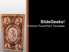 Ancient Bible Isolated Christian PowerPoint Templates Ppt Backgrounds For Slides 1212