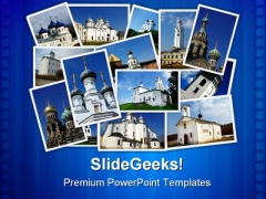 Ancient Orthodox Churches Religion PowerPoint Templates And PowerPoint Backgrounds 0211