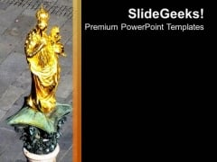 Ancient Theme Picture With Black Background PowerPoint Templates Ppt Backgrounds For Slides 0513