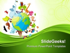Animal Planet Geographical PowerPoint Templates And PowerPoint Backgrounds 0211