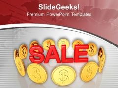 Announce The Sale For Profit Making PowerPoint Templates Ppt Backgrounds For Slides 0613