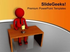 Announcement Of Final Results PowerPoint Templates Ppt Backgrounds For Slides 0713