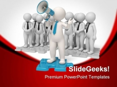 Announcements Business PowerPoint Templates And PowerPoint Backgrounds 0811
