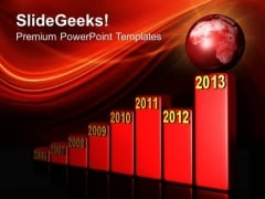 Annual Growth Chart Business PowerPoint Templates And PowerPoint Themes 0712