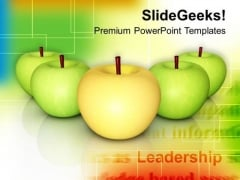 Apples Source Of Vitamins And Minerals Health PowerPoint Templates Ppt Backgrounds For Slides 0413