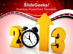 Approaching Year With Business Growth Success PowerPoint Templates Ppt Backgrounds For Slides 1212