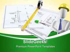 Architecture Design PowerPoint Templates And PowerPoint Backgrounds 0411