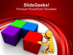 Arrange The Things For Better Business PowerPoint Templates Ppt Backgrounds For Slides 0413
