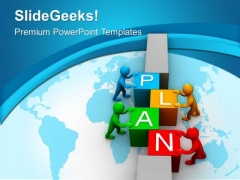 Arranging Plans For Successful Business PowerPoint Templates Ppt Backgrounds For Slides 0413