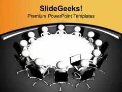 Assemble Team And Solve Business Problem PowerPoint Templates Ppt Backgrounds For Slides 0613