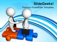 Attend The Business Meeting PowerPoint Templates Ppt Backgrounds For Slides 0613
