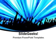 Audience Entertainment PowerPoint Themes And PowerPoint Slides 0311