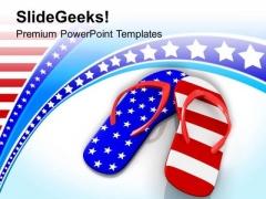 Australian Flag National Patriotic Theme PowerPoint Templates Ppt Backgrounds For Slides 0413