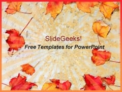 Autumn Leaves PowerPoint Icon