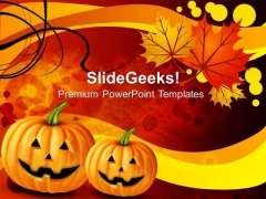 Autumn Background Holidays PowerPoint Templates And PowerPoint Themes 0812