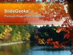 Autumn Beach Nature PowerPoint Themes And PowerPoint Slides 0411