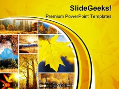 Autumn Collage Nature PowerPoint Themes And PowerPoint Slides 0811