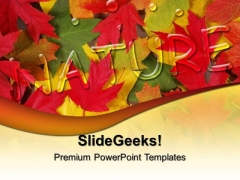 Autumn Leaves Nature PowerPoint Templates And PowerPoint Themes 0512