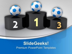 Award Ceremony For Football PowerPoint Templates Ppt Backgrounds For Slides 0613