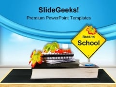 Back To School01 Education PowerPoint Template 1110