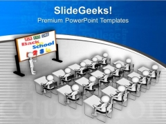 Back To School Chalkboard Image PowerPoint Templates Ppt Backgrounds For Slides 0713