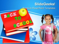 Back To School Concept Education PowerPoint Backgrounds And Templates 1210