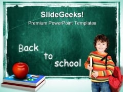 Back To School Education PowerPoint Templates And PowerPoint Backgrounds 0711