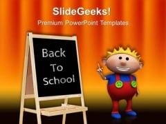 Back To School Education PowerPoint Templates And PowerPoint Themes 0312