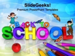 Back To School Education PowerPoint Templates And PowerPoint Themes 0612