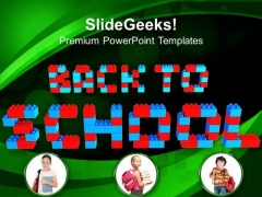 Back To School Education PowerPoint Templates And PowerPoint Themes 0912