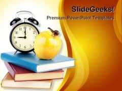 Back To School Time Education PowerPoint Backgrounds And Templates 1210