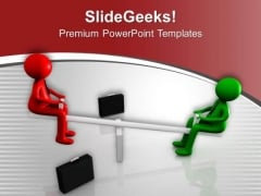 Balance Between Good And Bad PowerPoint Templates Ppt Backgrounds For Slides 0613