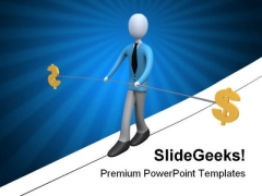 Balance Business PowerPoint Template 0610
