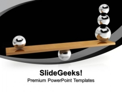 Balancing Balls Success PowerPoint Templates And PowerPoint Themes 1012