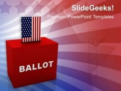 Ballot Box Government PowerPoint Templates And PowerPoint Themes 1012