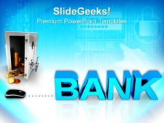 Bank Security Through Internet PowerPoint Templates And PowerPoint Themes 0812