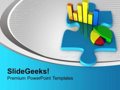 Bar And Pie Chart For Sales Strategy PowerPoint Templates Ppt Backgrounds For Slides 0513
