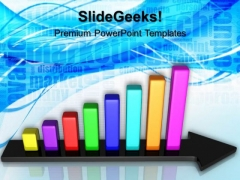 Bar Chart Growth Business PowerPoint Templates And PowerPoint Themes 0612