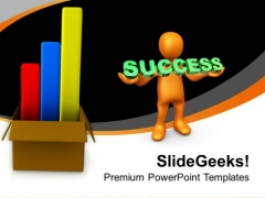 Bar Chart Representation For Success PowerPoint Templates Ppt Backgrounds For Slides 0413