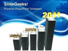 Bar Graph Business PowerPoint Themes And PowerPoint Slides 0511
